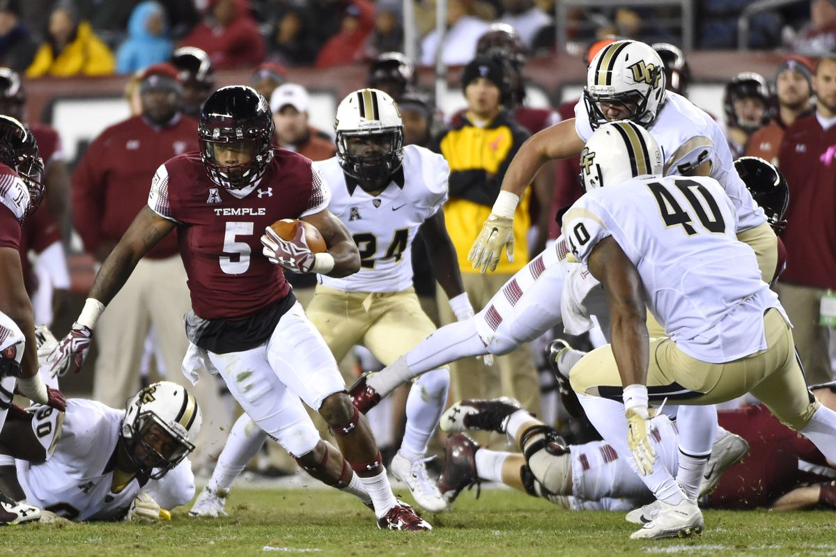 temple owls vs ucf knights final score recap: owls win 30-16 as