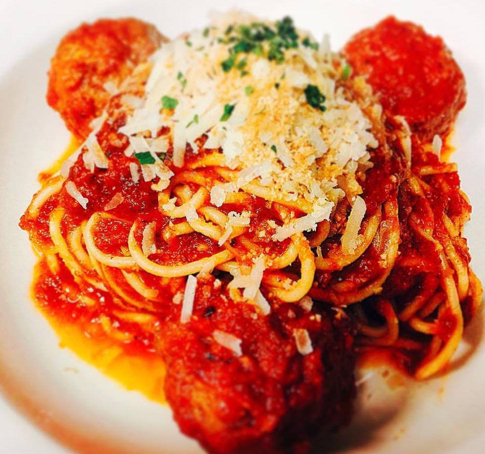 Grotto Spaghetti and Meatballs