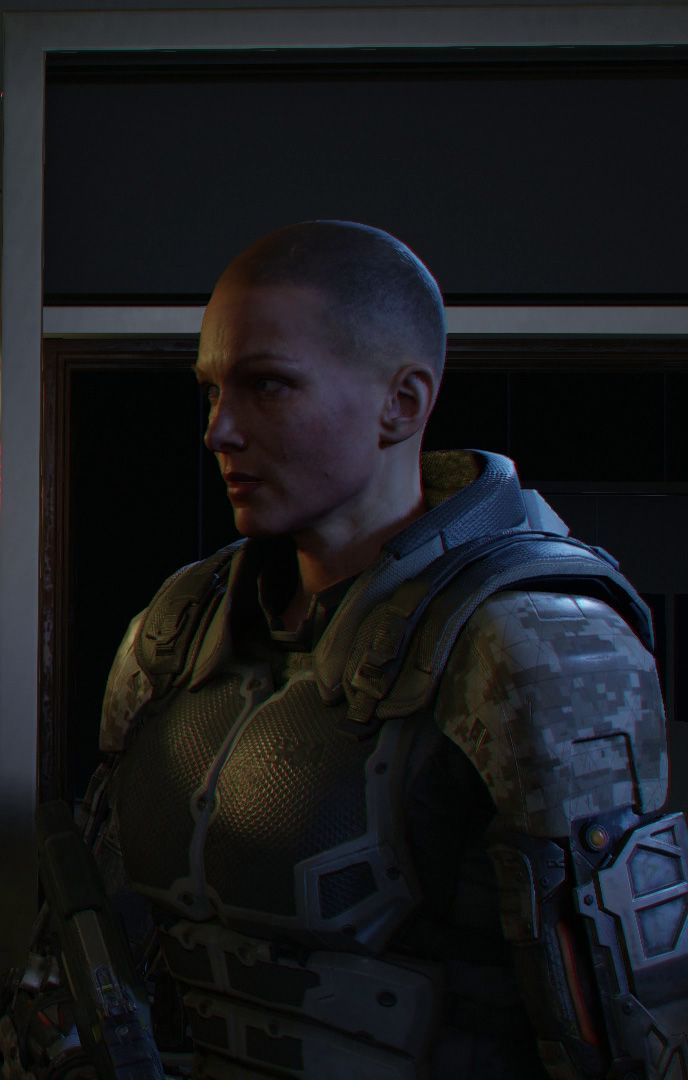 black ops 3 review screen 2 female lead