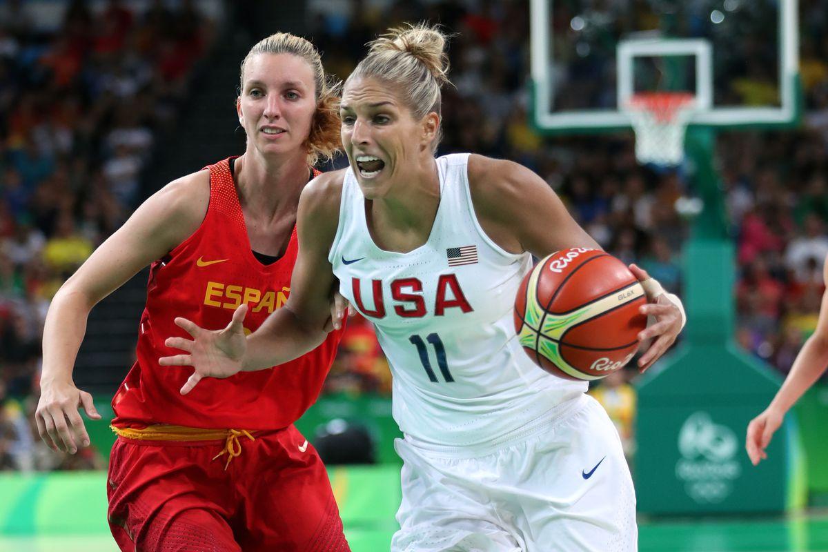 Olympics: Basketball-Women's Team-Gold medal match -USA vs ESP