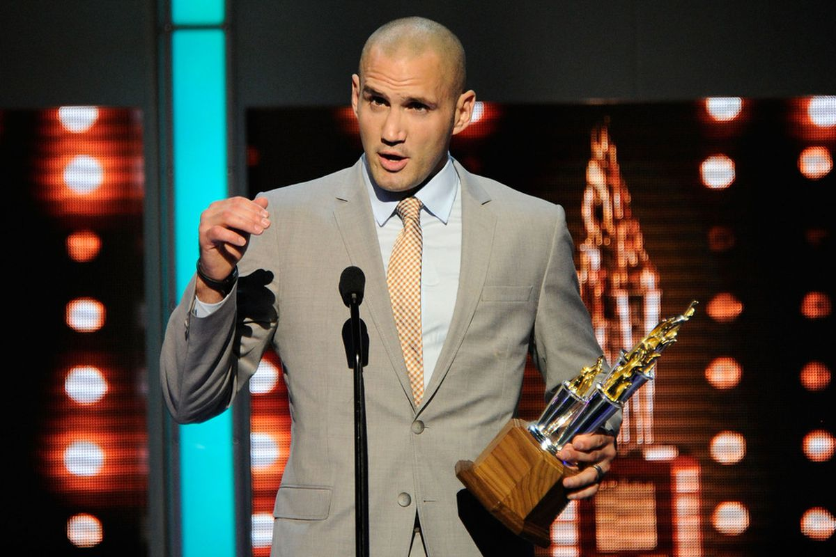 So what I said was... If you don't give me this award, I'll end your career. All of you. Now, go ahead and vote.
