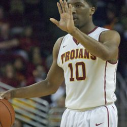 Hold up! Pe'Shon Howard had 20 points to lead USC.