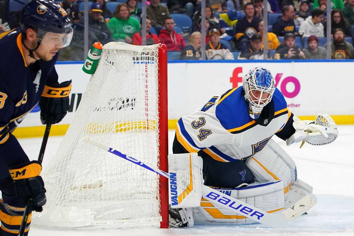 NHL: St. Louis Blues at Buffalo Sabres
