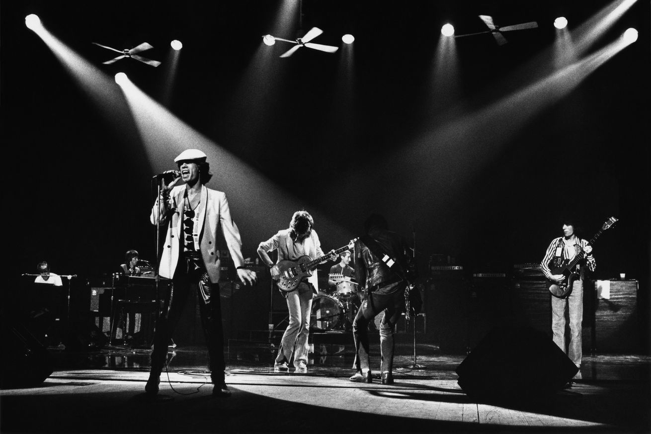 Mick Jagger and The Rolling Stones in Concert