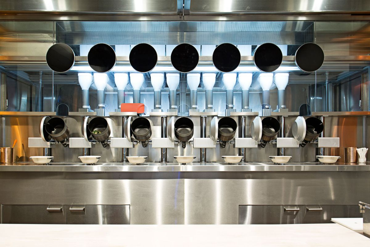 Spyce Robotic Restaurant Gets $21 Million in Series A Funding ...