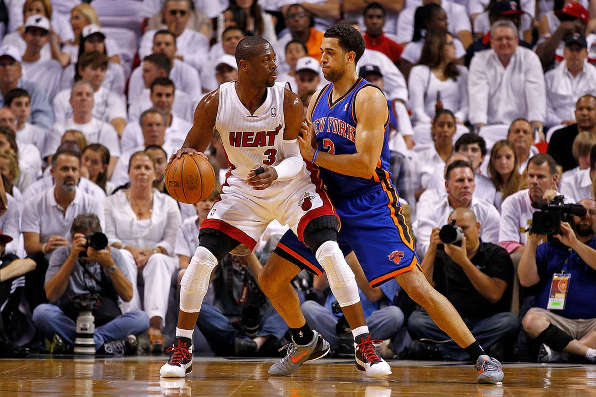 Landry Fields may not block shots like James Johnson, but his other defensive intangibles make him a similar factor at that end of the court.