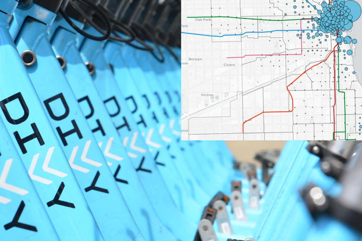 Divvy Bikes by the numbers: 14.8 million rides over five years ... on