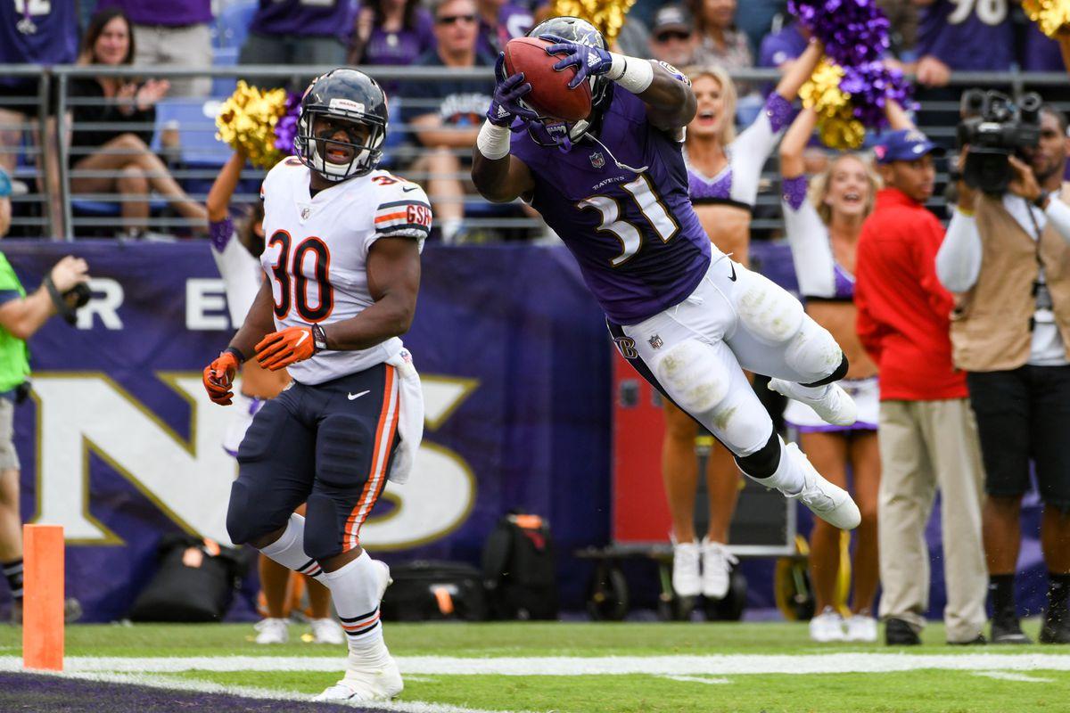NFL: OCT 15 Bears at Ravens