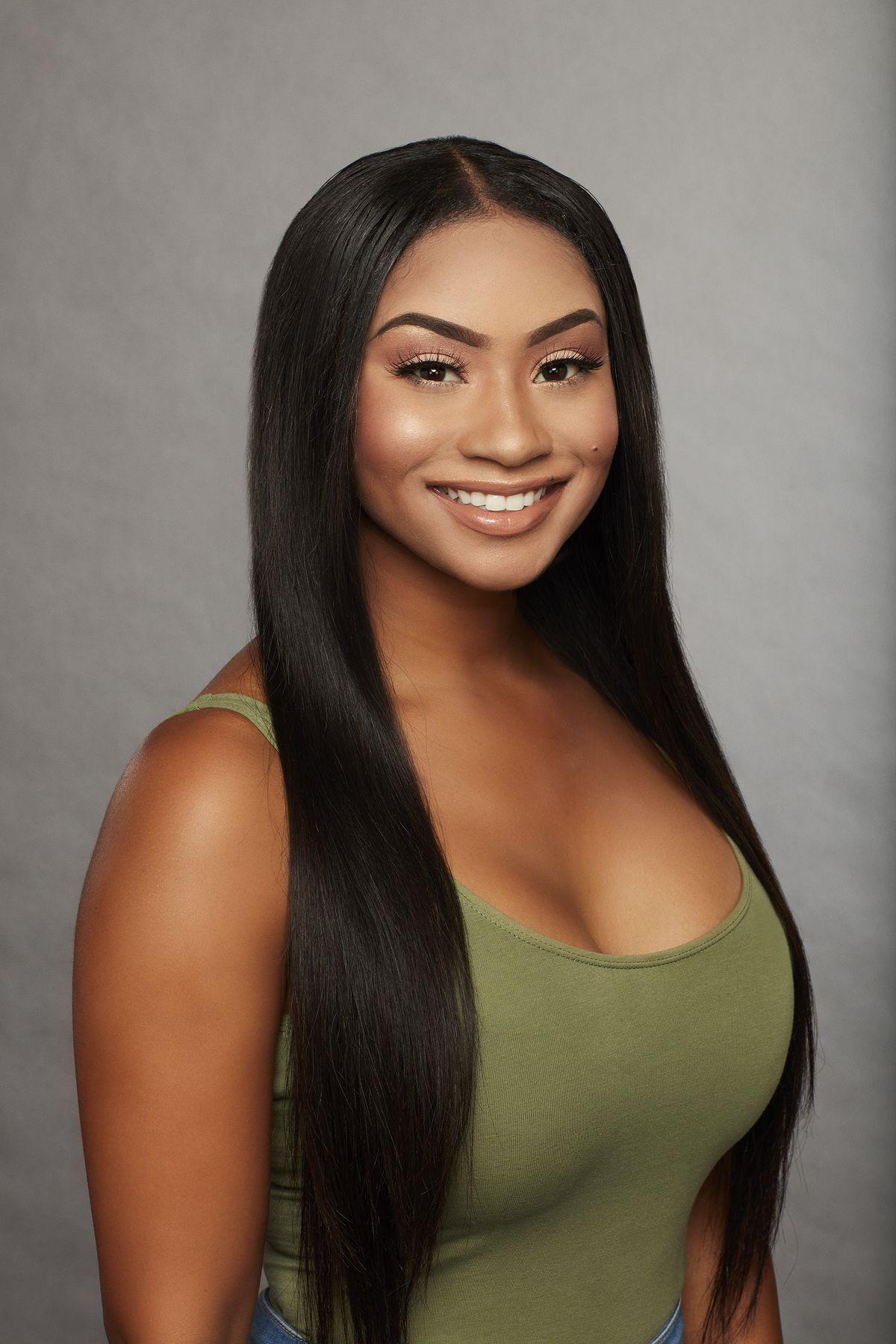 Bachelor contestant Brittane, 27