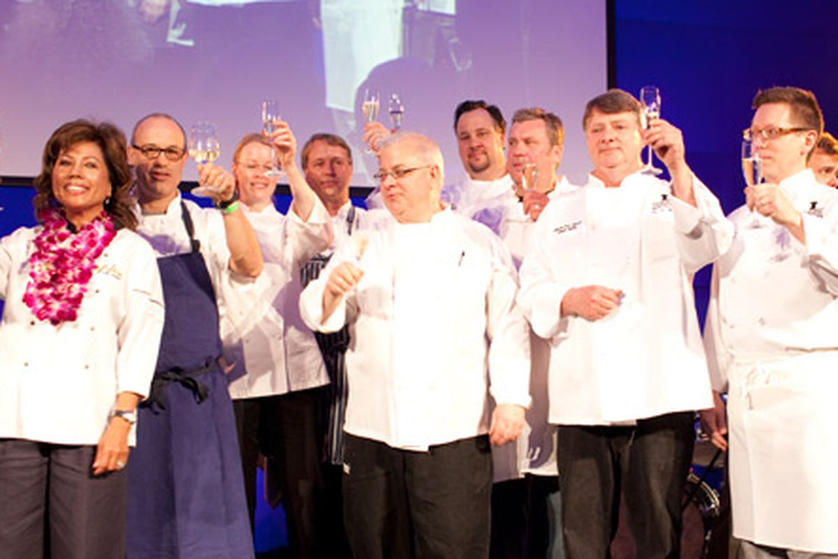 Taste of the Nation chefs. Photo courtesy of Caroline Petters.