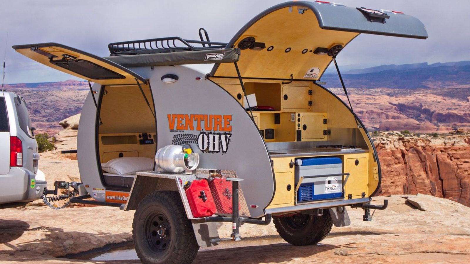 Lightweight Teardrop Trailer Can Be Customized For Your