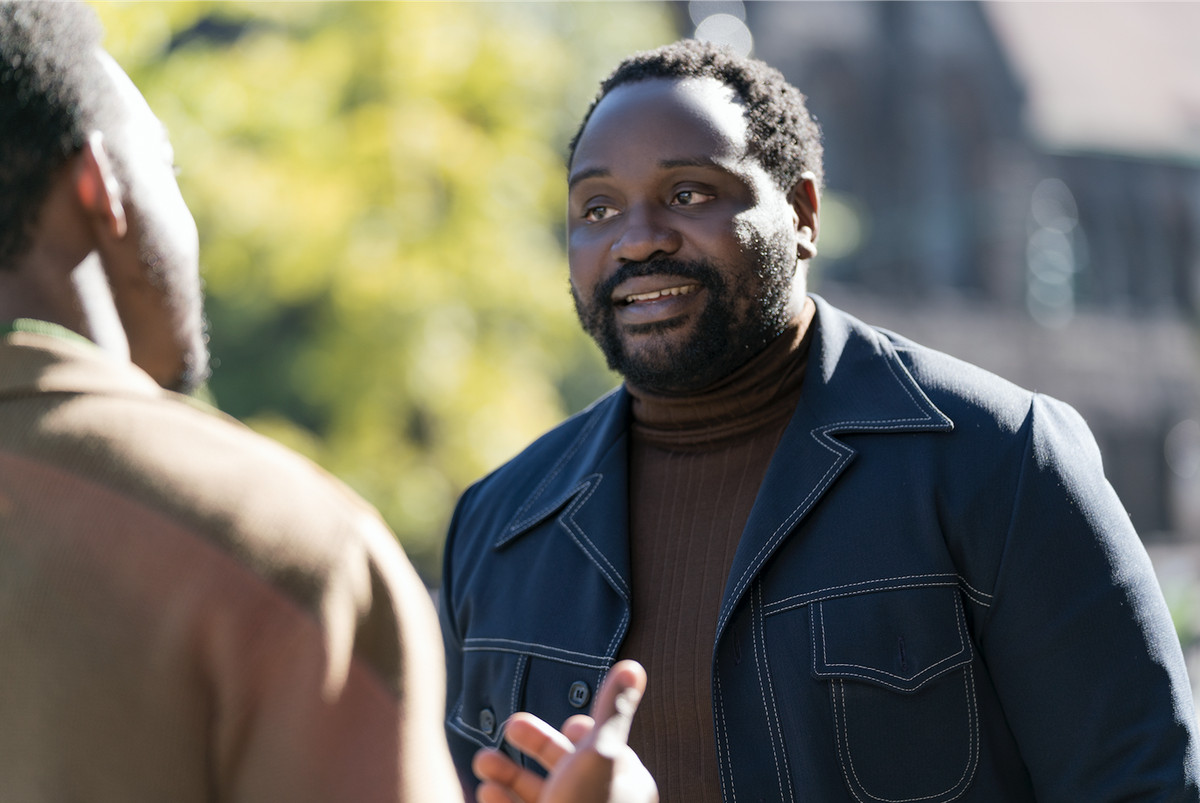 Fonny's friend Daniel (Brian Tyree Henry) is just out of prison.   Annapurna Pictures