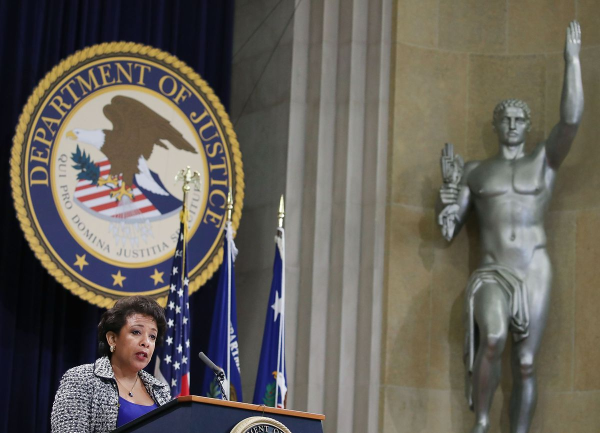 If Jeff Sessions's nomination is accepted, he'll replace US Attorney General Loretta Lynch.