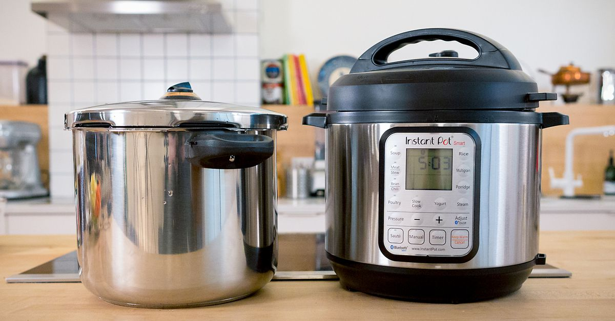 watch does the instant pot beat a traditional pressure. Black Bedroom Furniture Sets. Home Design Ideas