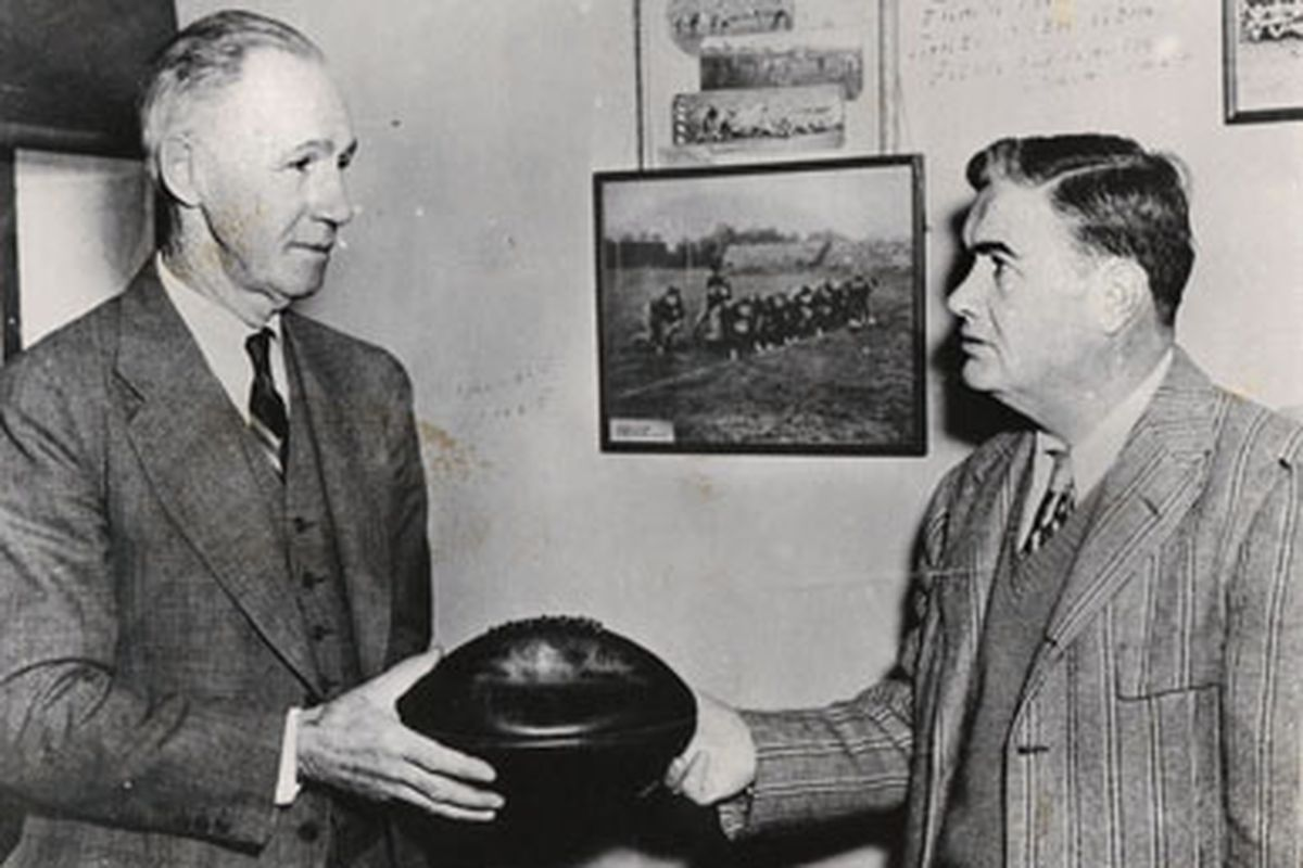 In 1930, Alabama's Wallace Wade coached his final season at the Capstone while Frank Thomas waited to take over the job at the end of the year.