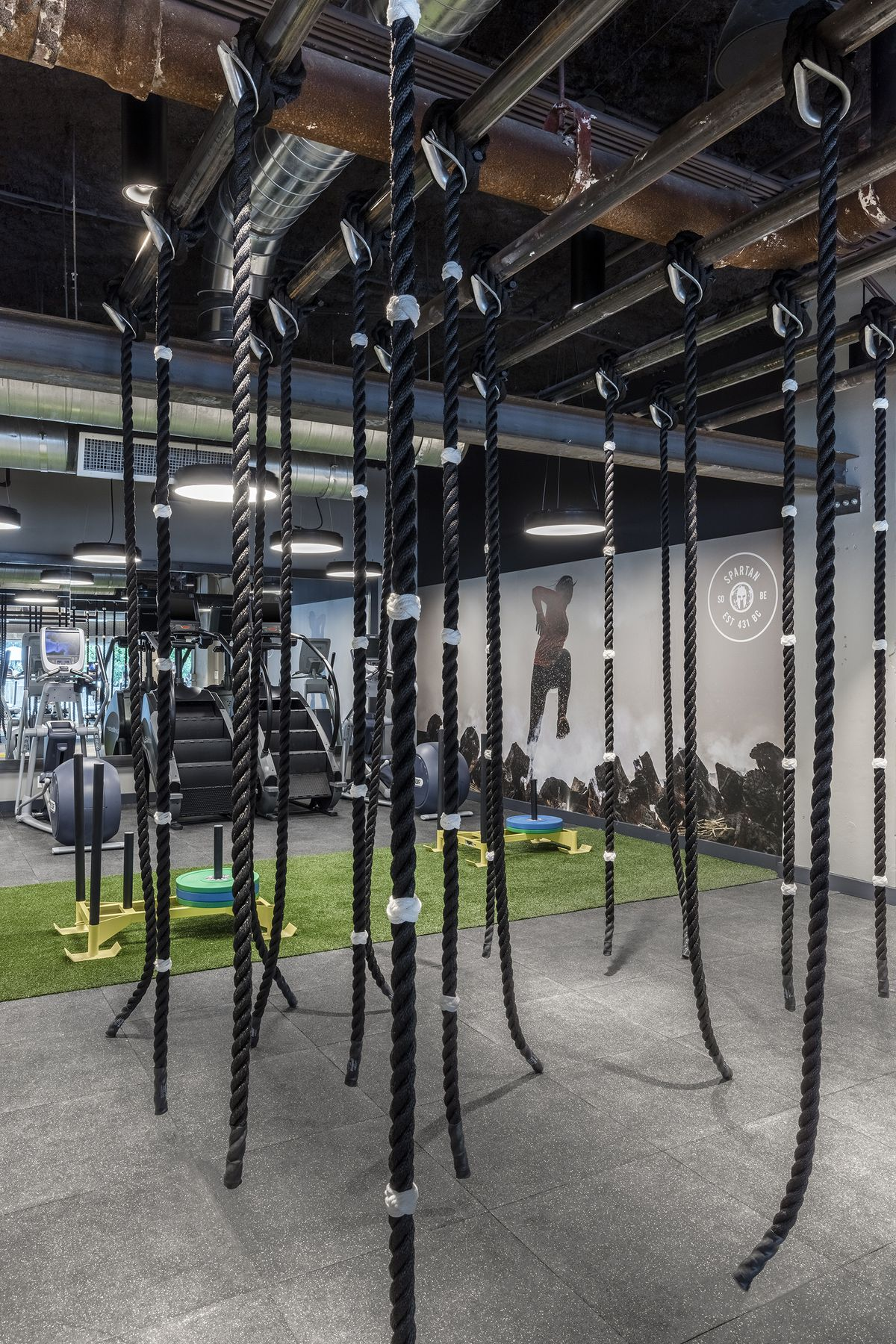 tour 1 hotel south beach's new spartan gym - curbed miami