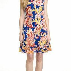 "<b>Aloisa</b> dress, <a href=""http://www.toryburch.com/ALOISA-DRESS/52111422,default,pd.html?dwvar_52111422_color=448&start=13&cgid=sale"">$297</a> (was $495)."