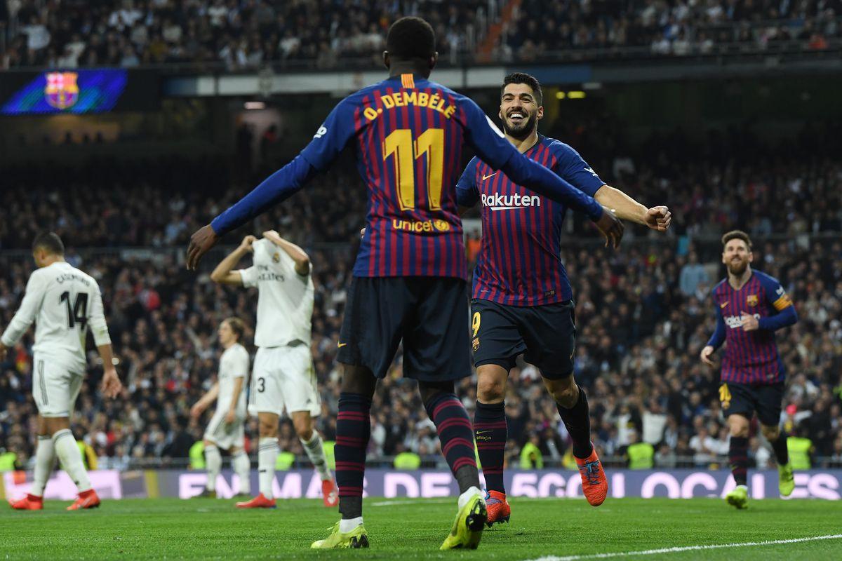 the latest 3b5f2 57f8d Real Madrid vs Barcelona, Copa del Rey  Final Score 0-3, Barça win  incredible El Clásico, advance to Spanish Cup Final