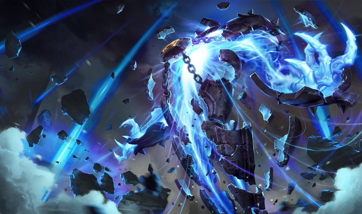 Base skin Xerath gets ready to fire some serious lasers from his chest