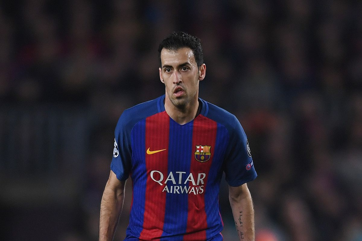 a917dae1f2f2 UEFA Champions League Selection Headache  Sergio Busquets Out for  Barcelona-Juventus First Leg