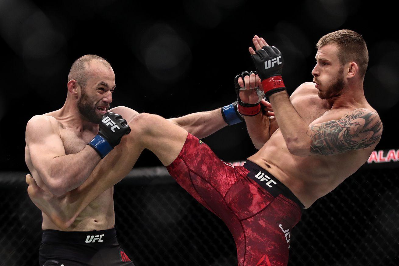 UFC Fight Night 149 in St Petersburg