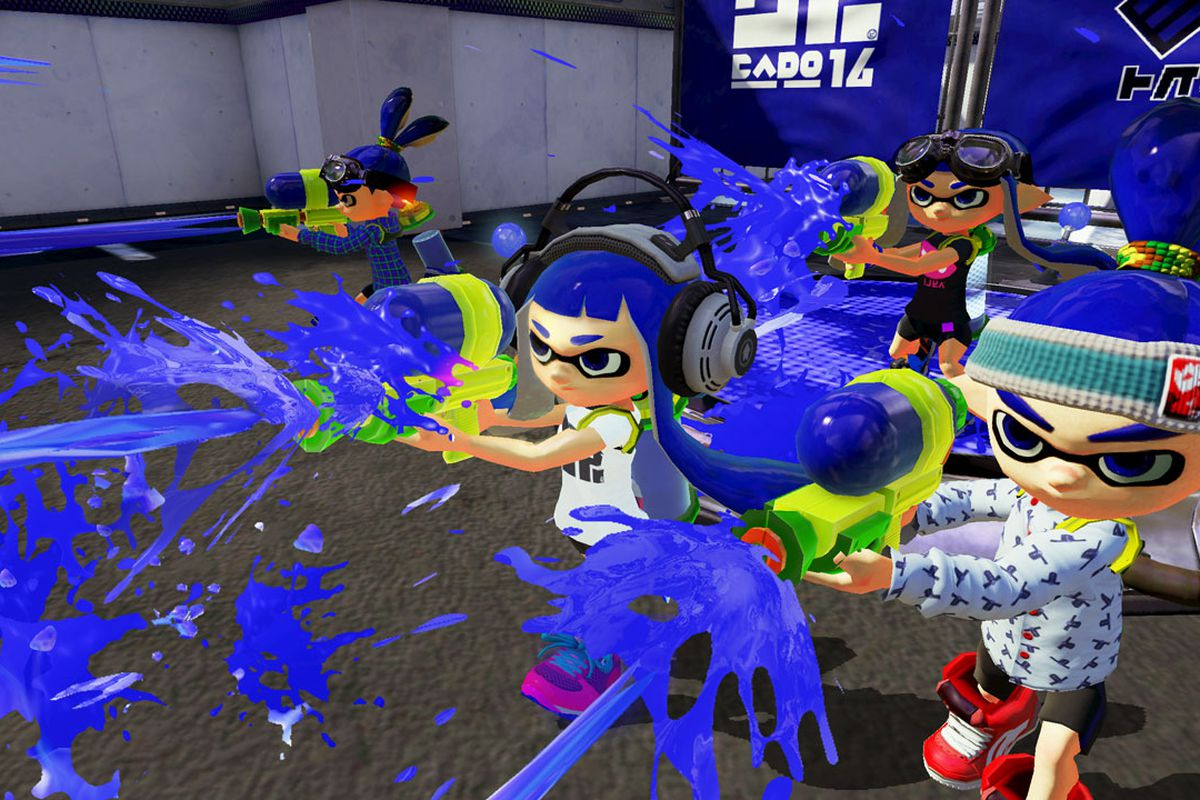 nintendo shooter splatoon won t have voice chat due to online