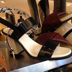 Chanel sandals, size 7, $569 (were $950)
