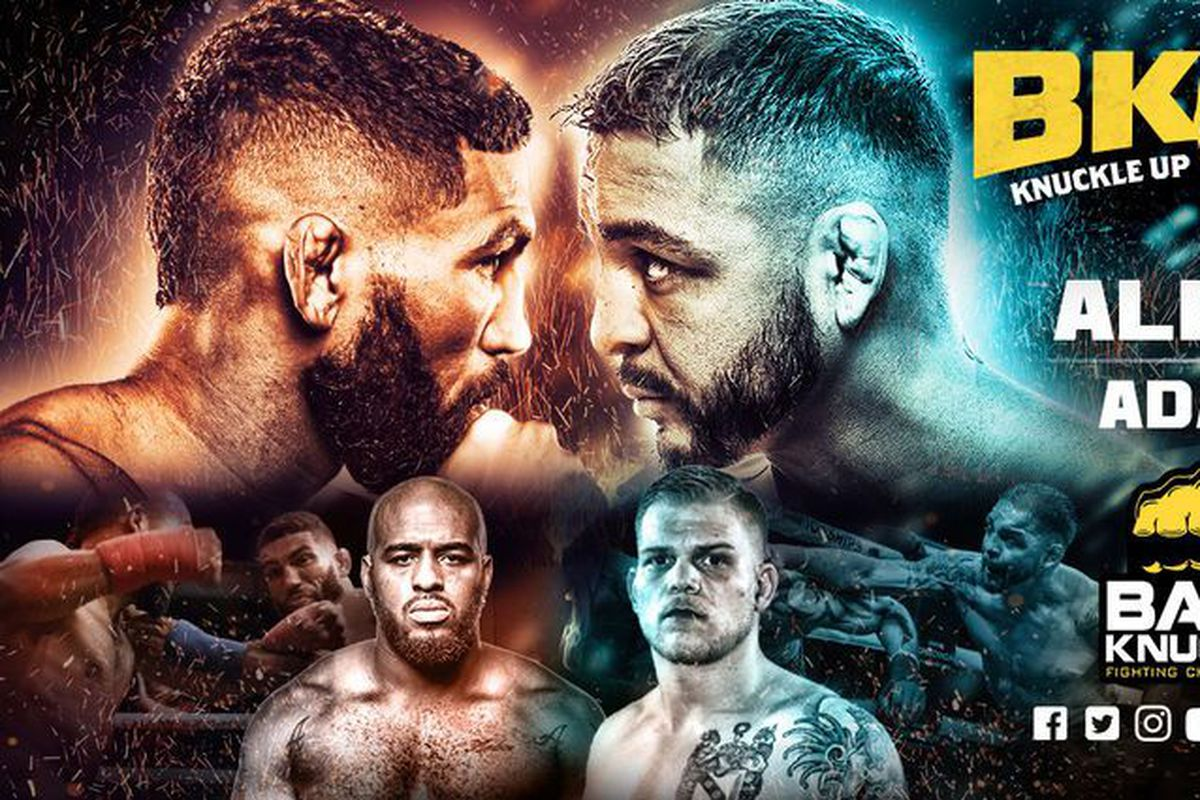 Bare Knuckle FC 7: Garcia vs  Alers live stream, results, and