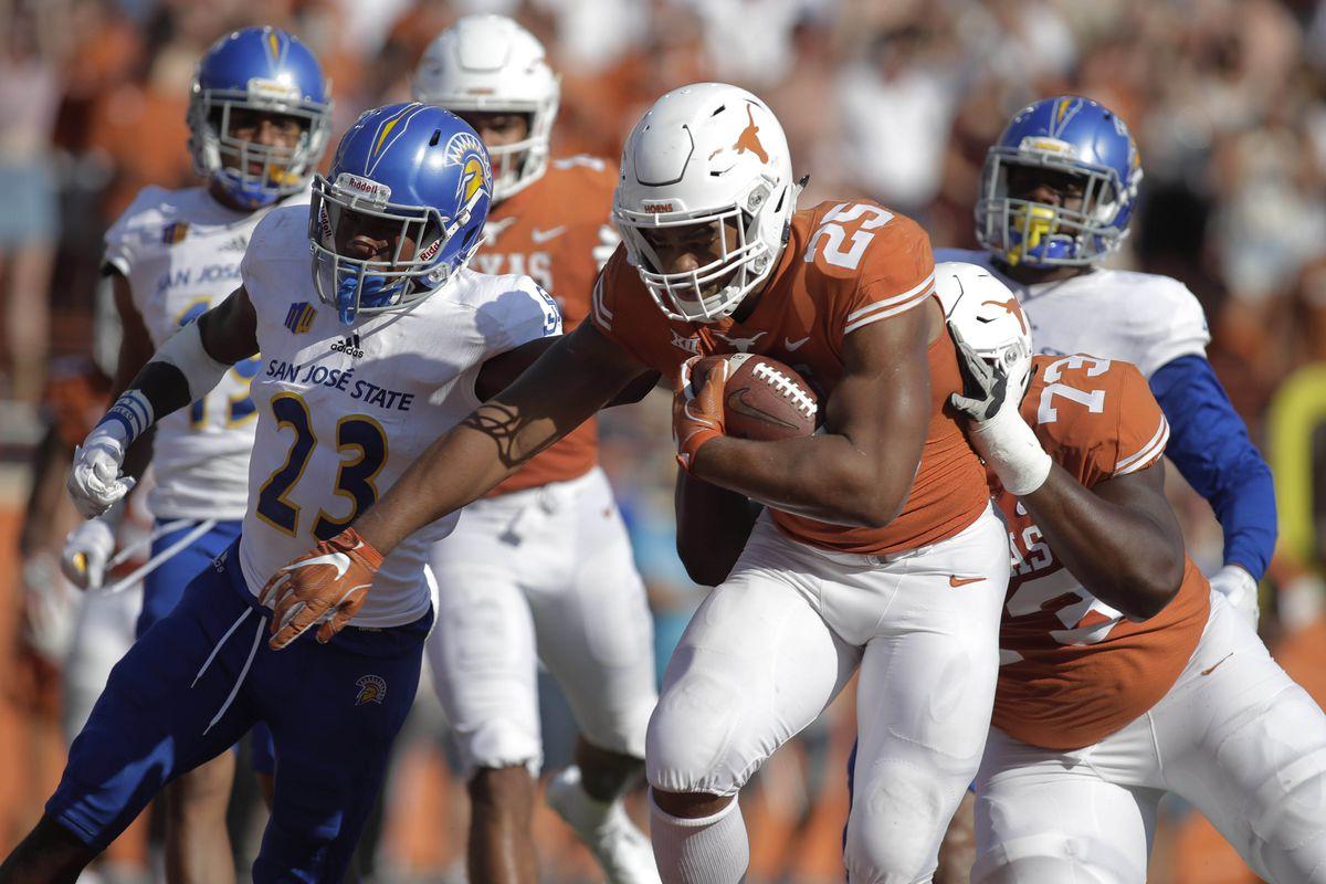 NCAA Football: San Jose State at Texas