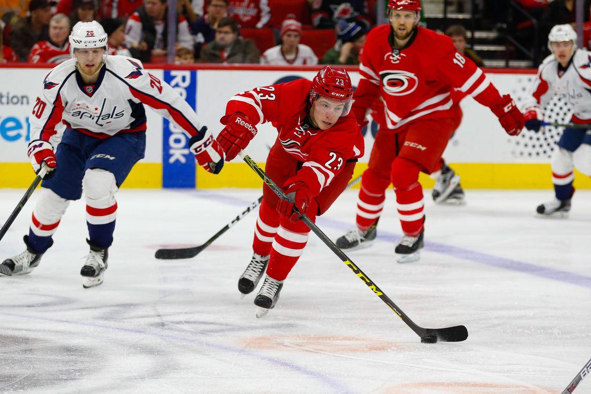 NHL: Washington Capitals at Carolina Hurricanes