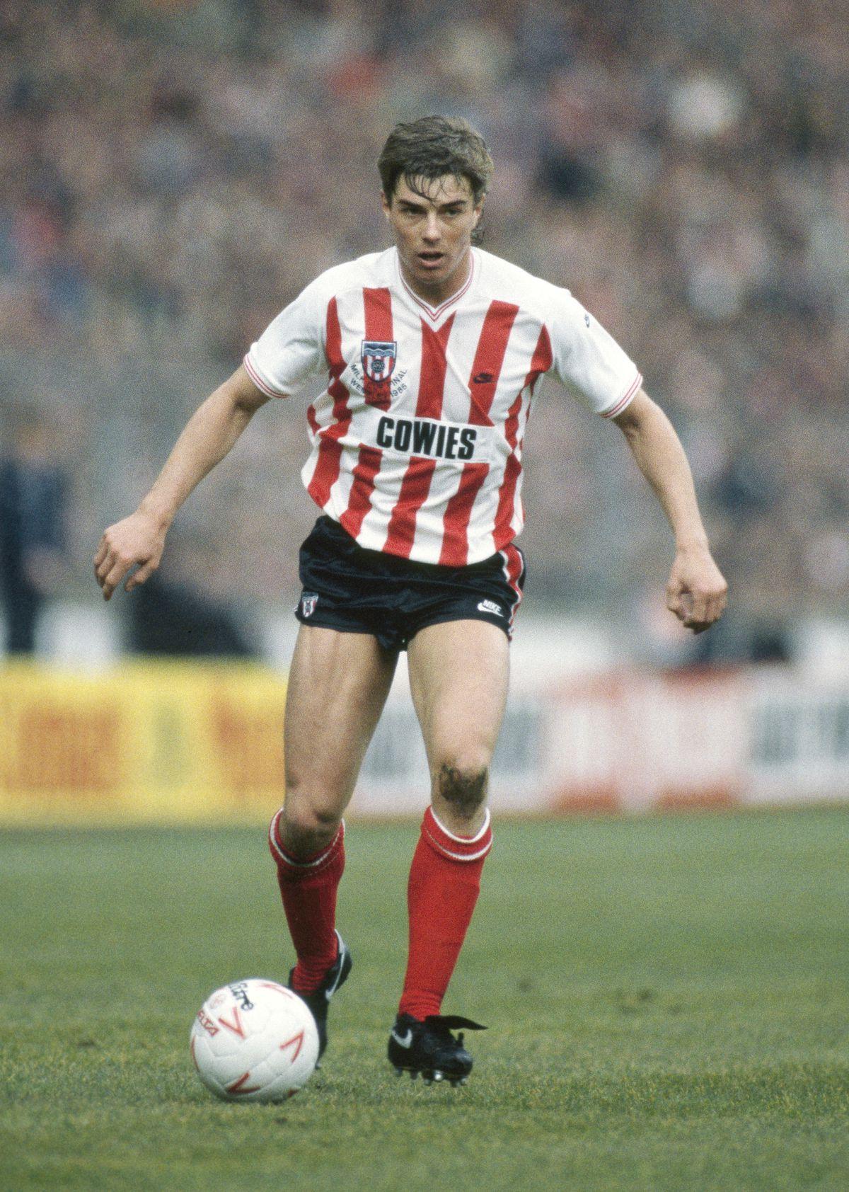 Barry Venison Sunderland 1985
