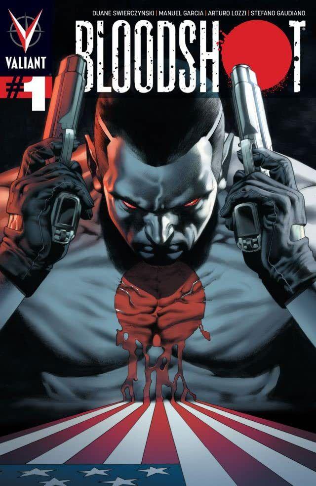 Bloodshot #1 cover