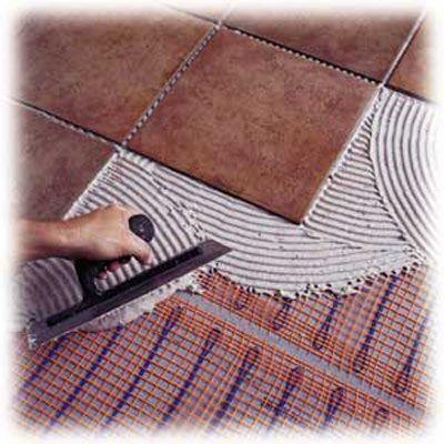 Radiant Floor Heating Under Tile