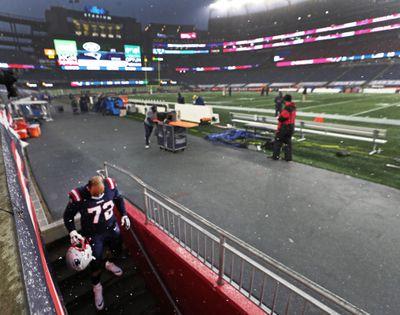 New York Jets Vs. New England Patriots At Gillette Stadium