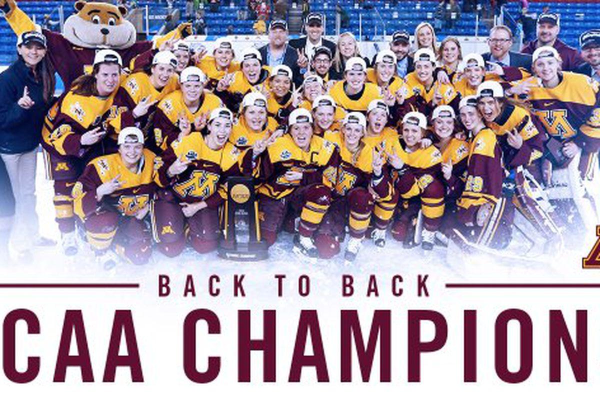 Minnesota is your 2015-16 NCAA Champion