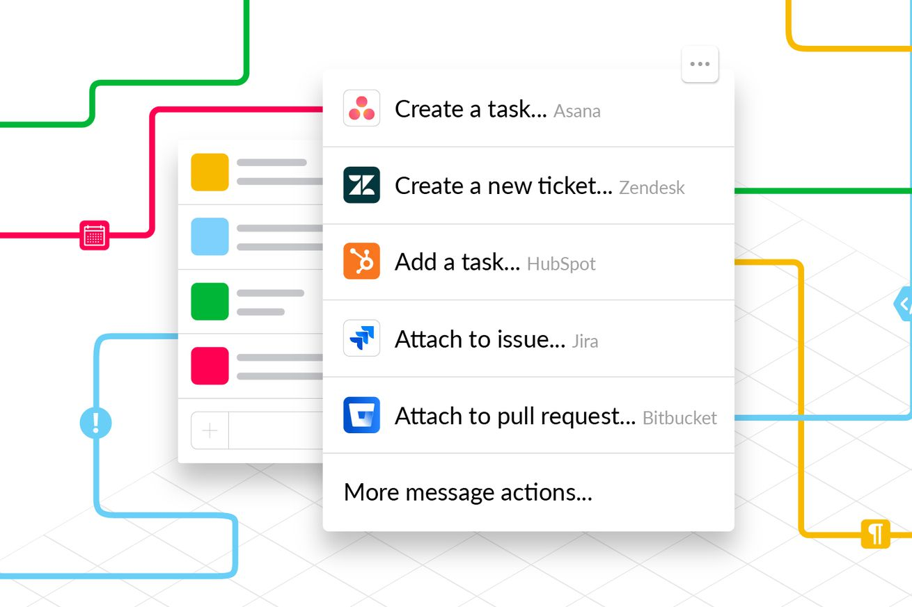 slack adds action buttons to become a true workplace communication hub