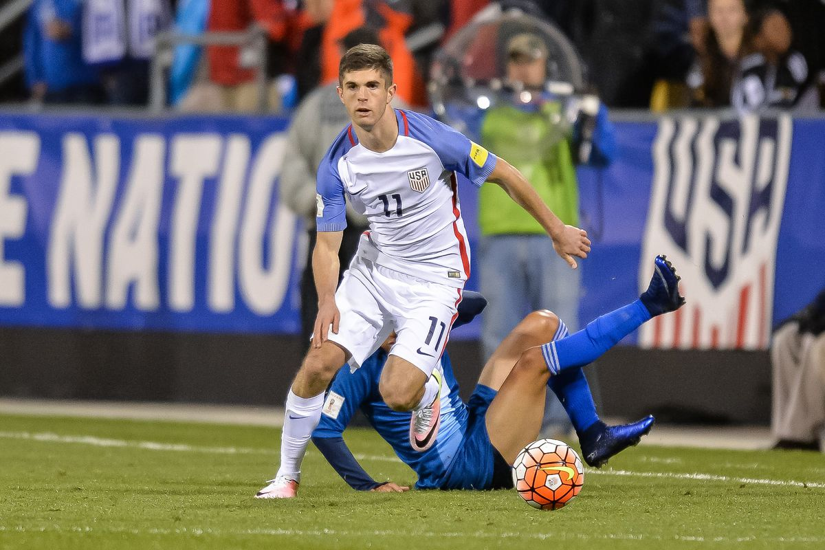 USMNT fans have high hope for 17 year old Christian Pulisic.