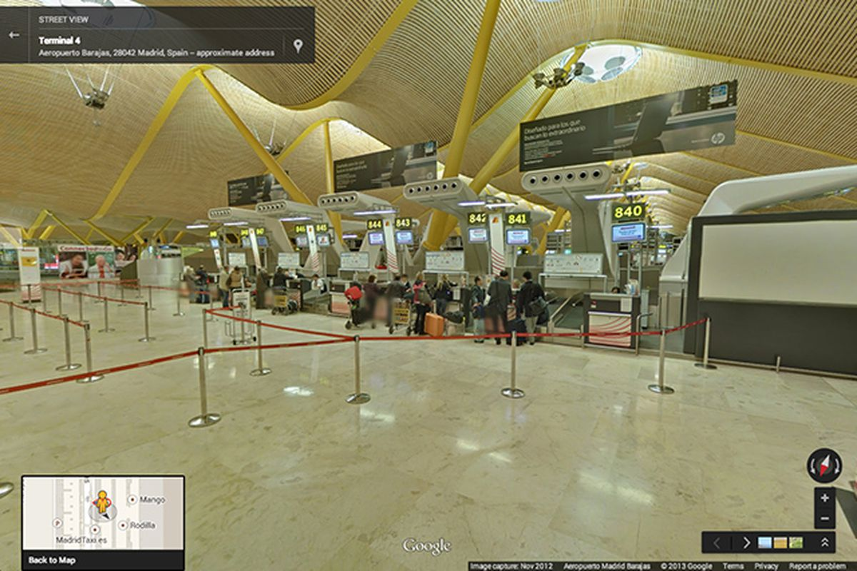 Google brings Street View inside more than 65 airports and ...