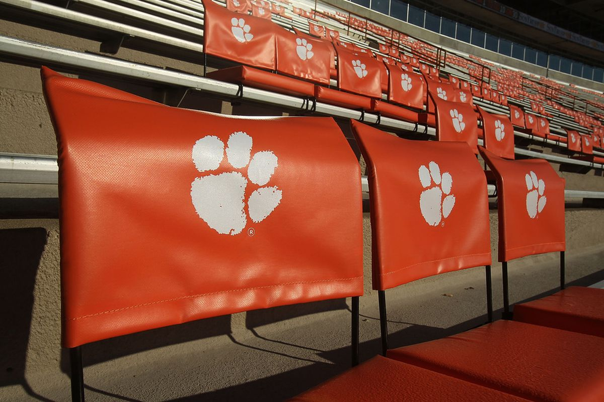 CLEMSON, SC - This could be your official visit seat...