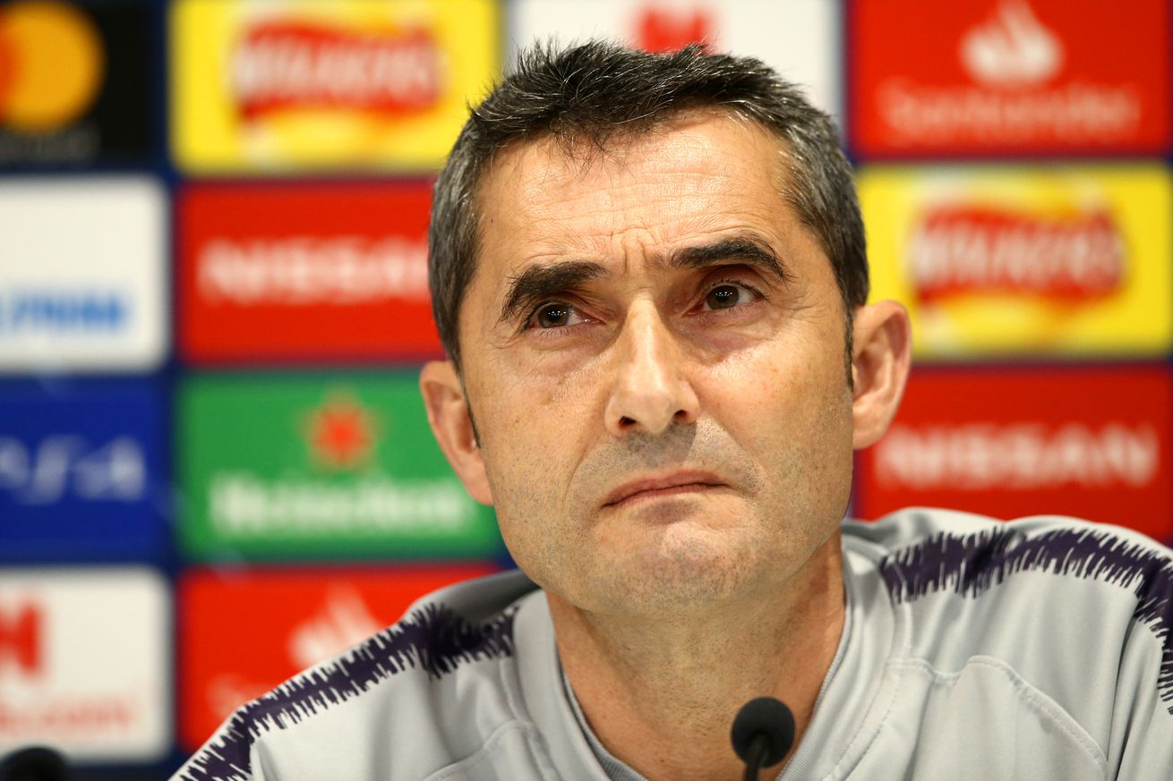 Valverde says he has Barca?s backing after UCL exit