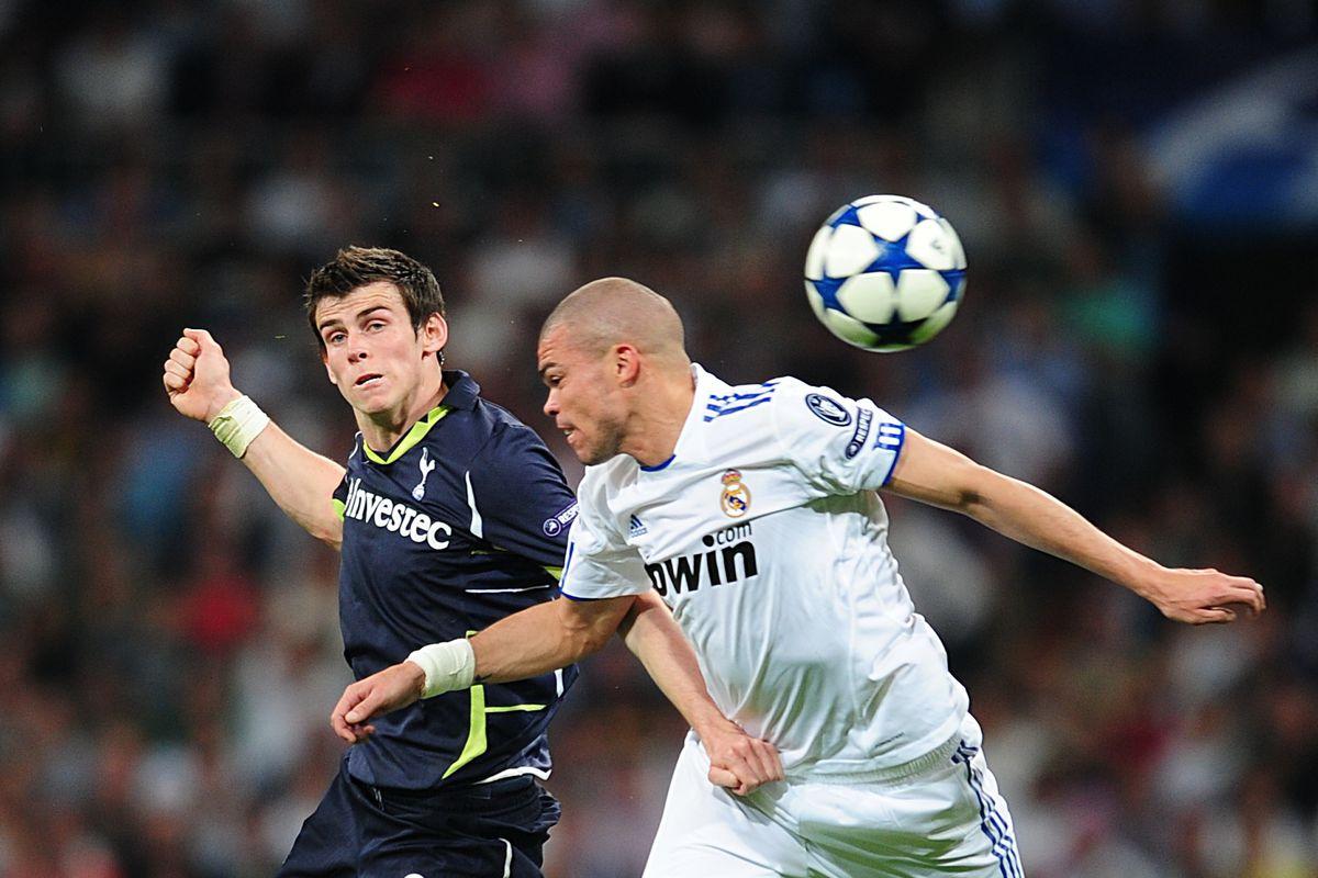 Soccer - UEFA Champions League - Quarter Final - First Leg - Real Madrid v Tottenham Hotspur - Santiago Bernabeu