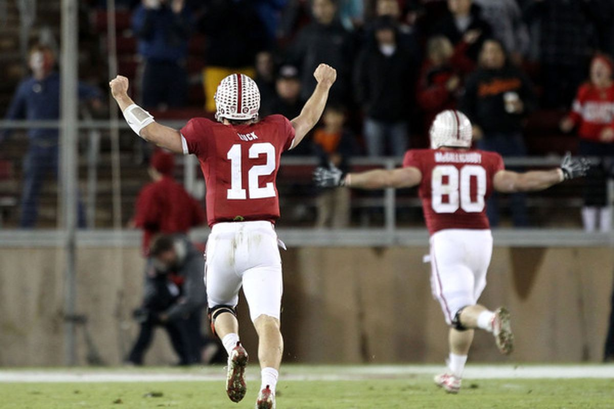 Andrew Luck is deserving, but will he be going BCS bowling?