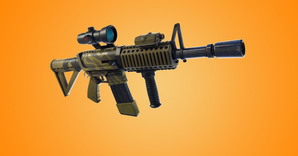 Fortnite Patch V4 4 Adds A New Gun Doesn T Change