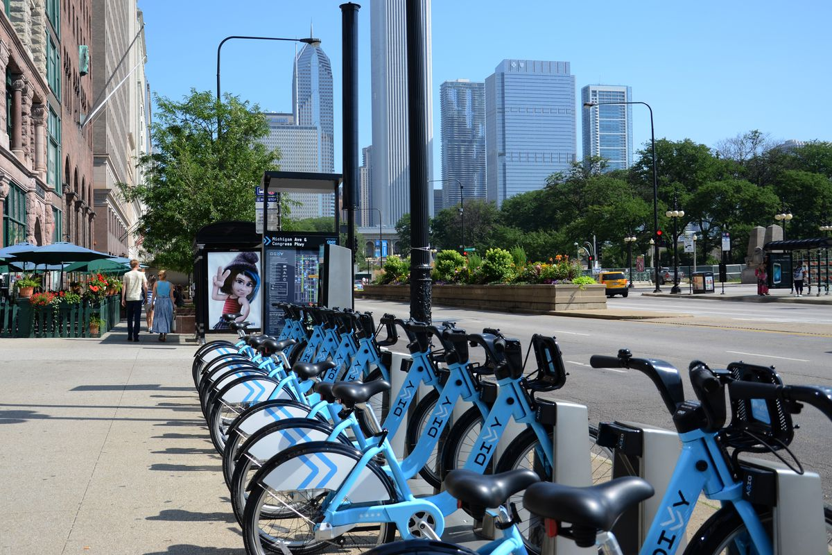 Divvy Chicago Map on
