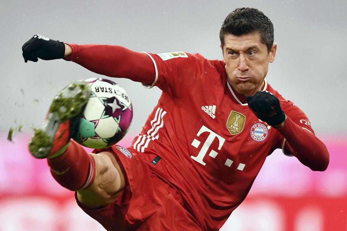 Robert Lewandowski - FC Bayern Muenchen - Bundesliga