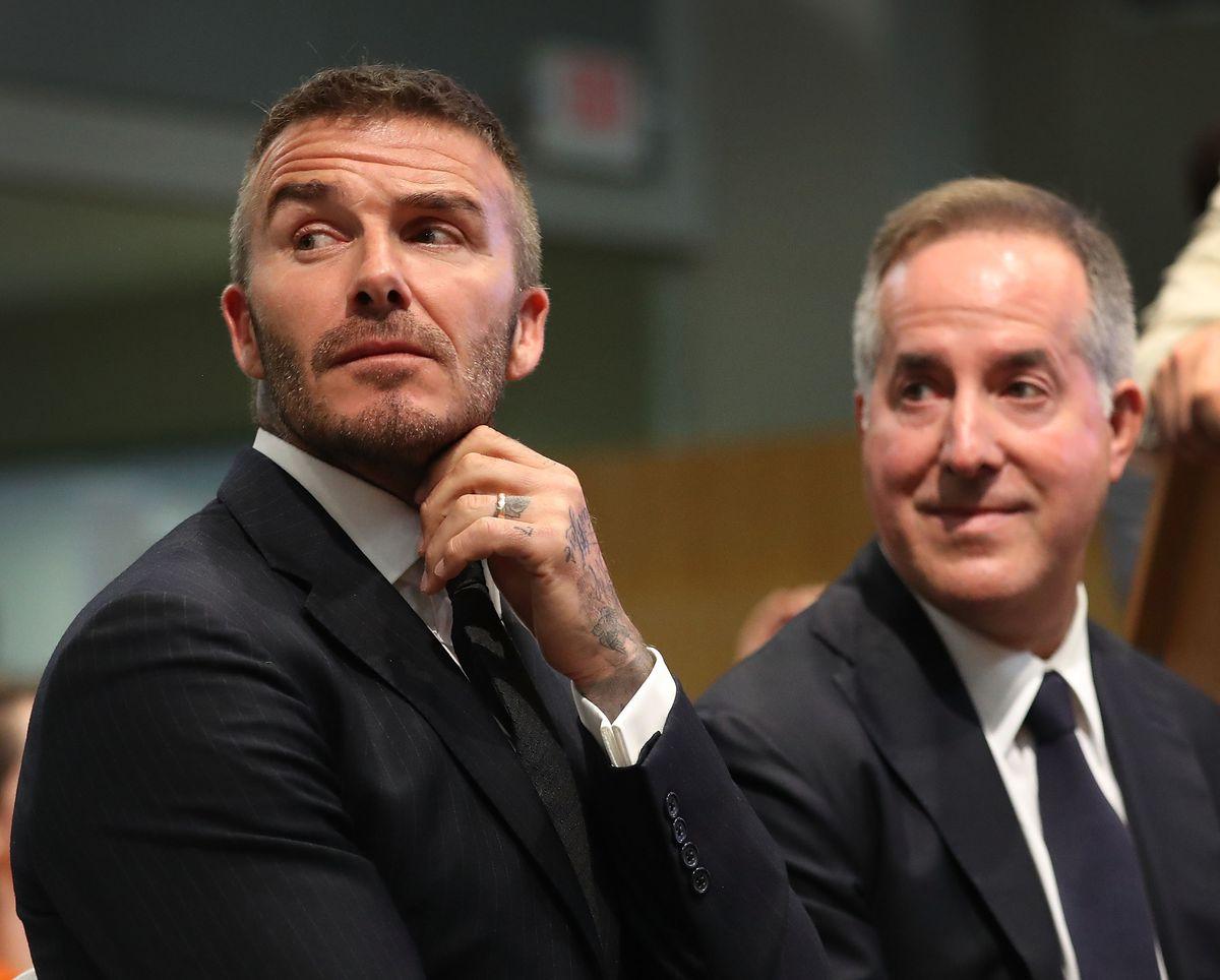 David Beckham Discusses His MLS Stadium Proposal At Miami City Commission Meeting