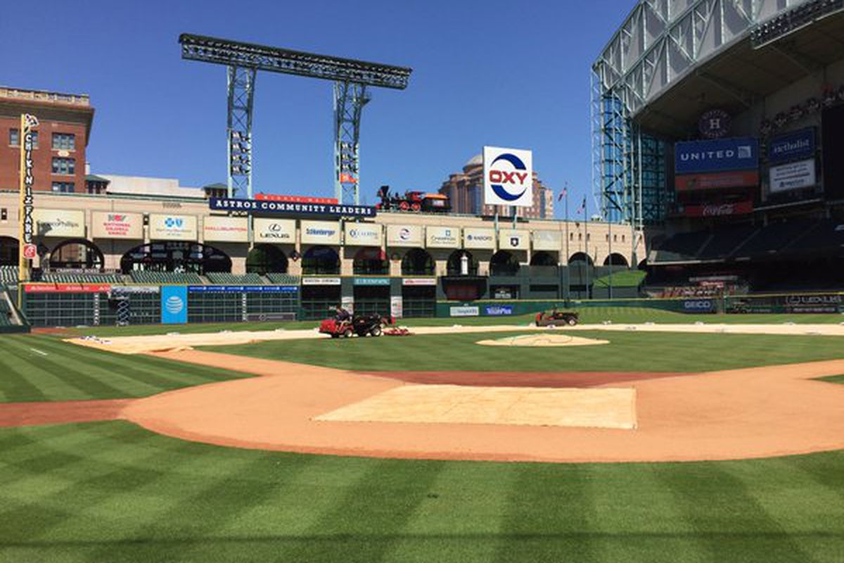 Astros Have The Perfect Response For Opening Day Rainout