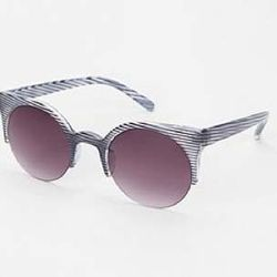 """<a href=""""http://www.urbanoutfitters.com/urban/catalog/productdetail.jsp?id=24785271""""><b>Urban Outfitters</b> Catcall Frame Sunglasses</a>, $9.99 (was $14)"""