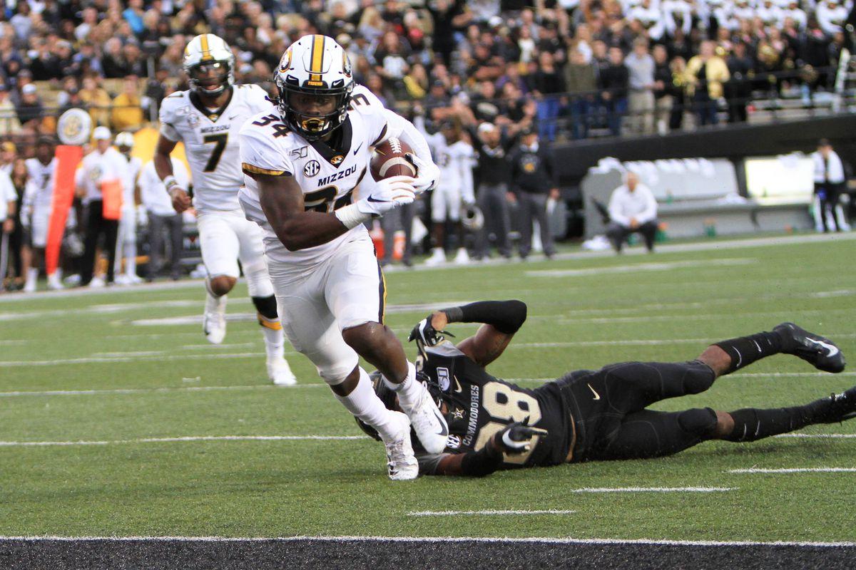 COLLEGE FOOTBALL: OCT 19 Missouri at Vanderbilt