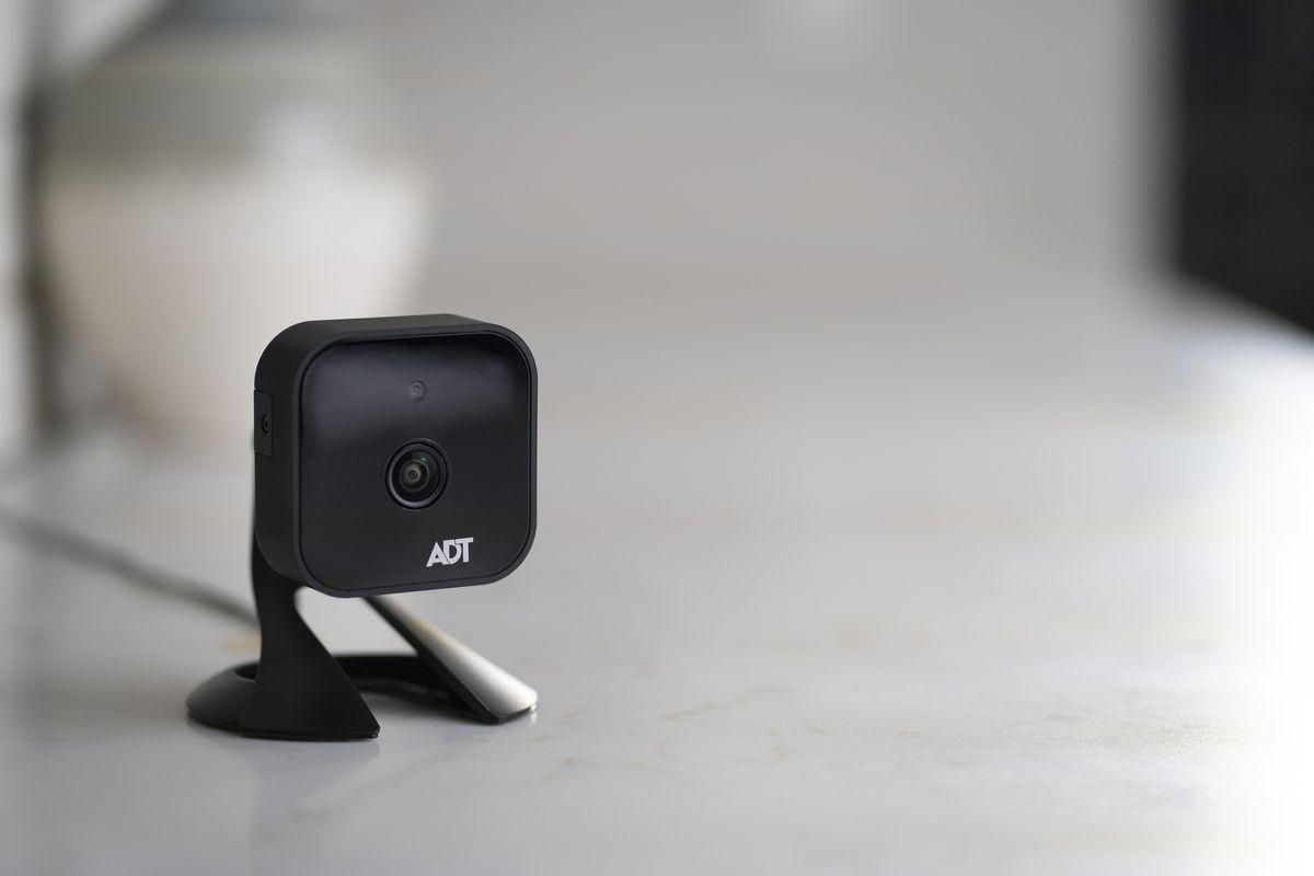 ADT camera in a home